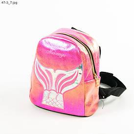 Подростковый рюкзак для девочек - №19-47-3 - Малиновый