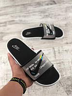 Мужские тапки Nike белые