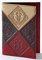 """Обложка для паспорта """"Medieval"""" (натуральная кожа)"""