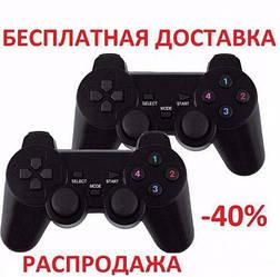 Джойстик 2шт для ПК два dualshock Original size + АНАЛОГ проводной usb игра 360