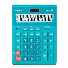 Калькулятор Casio  GR-12C-WR-W-EP бухгалтерский 12р., бордовый, фото 3