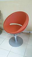 Кресло парикмахерское GARDENIA Италия + база круглая