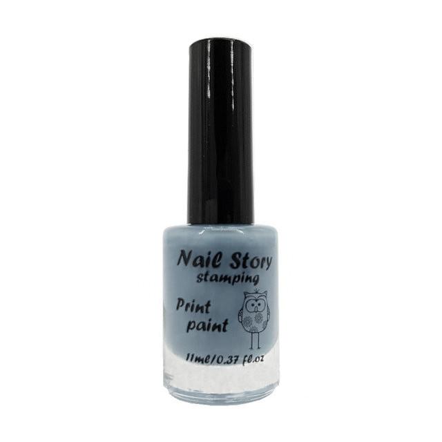 Лак для стемпинга Nail Story №6 (серый)