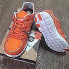 Кроссовки Bona сетка оранжевые размер 39, фото 5