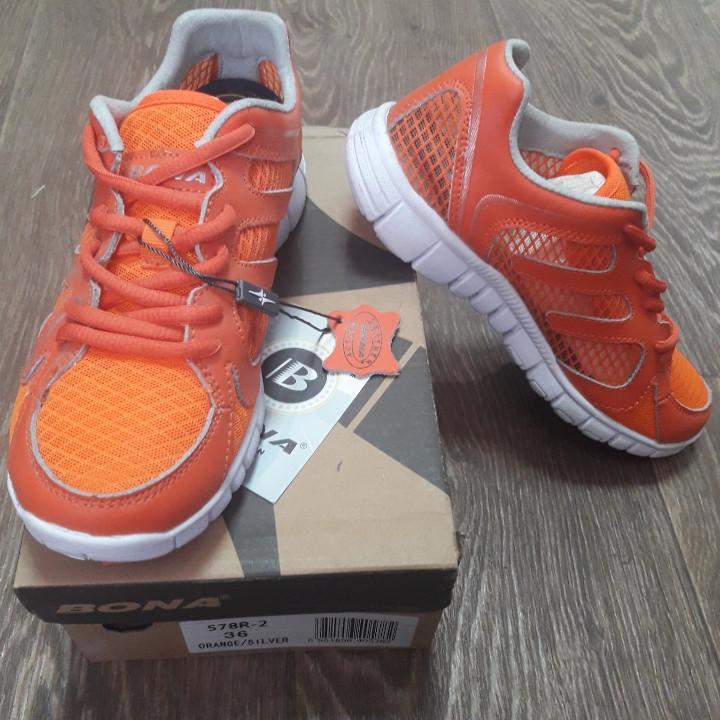 Кросівки Bona р. 39 сітка помаранчеві