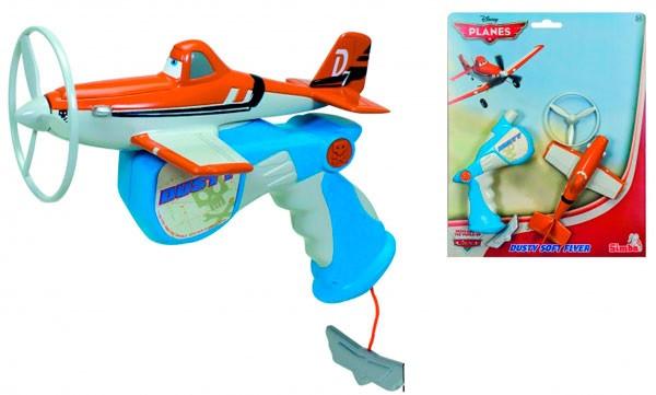 Самолет с пусковым механизмом Planes Dusty Simba