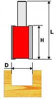 Фреза пазовая прямая ф25х25мм хв.8мм, фото 1