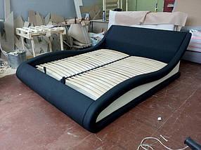 Кровать Дизайнерская Под Заказ Элегия-33 (Мебель-Плюс TM)