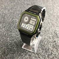 Casio AE-1200  Black-Green