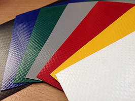 Ткань ПВХ, фабричная Азия, 630г/м2