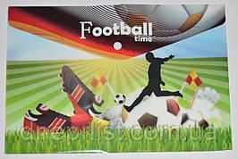 """Папка-конверт А4, на кнопке """"Football Time 1"""""""