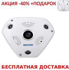 Панорамная потолочная беспроводная IP-камера T9 + наушники