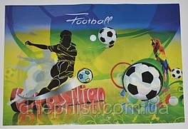 "Папка-конверт А4, на кнопке ""Football Brasilien"""
