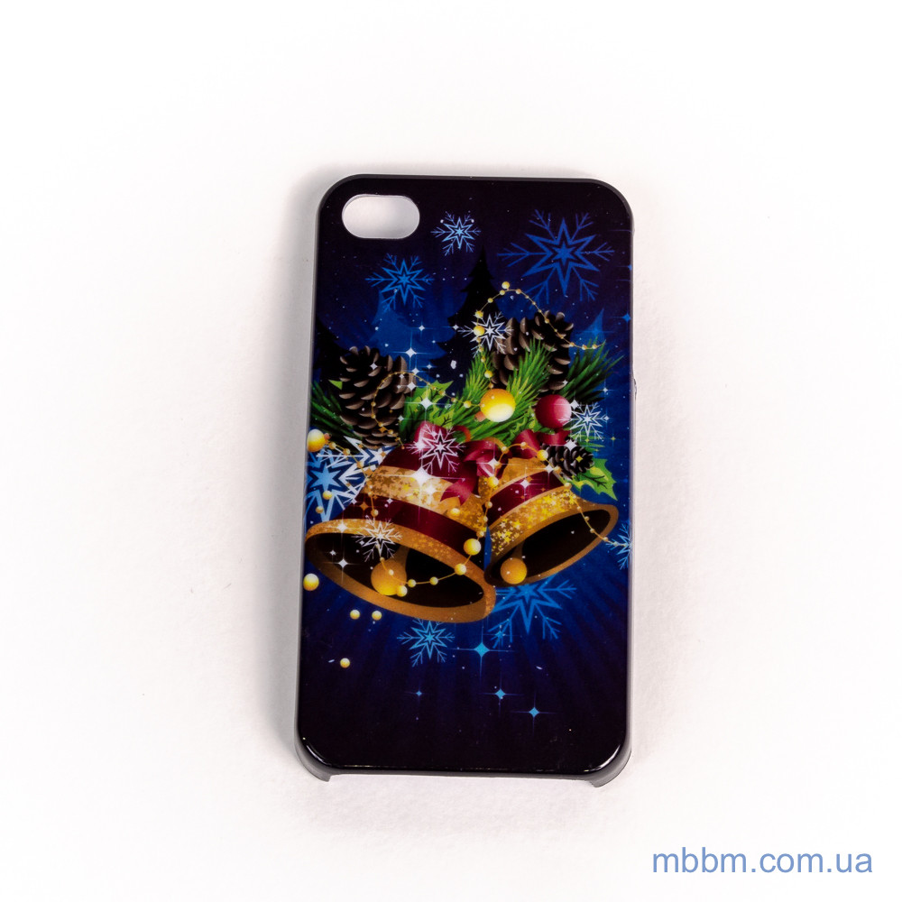 Чехол Christmas Hard Case iPhone 4/4s