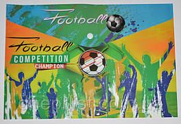 """Папка-конверт А4, на кнопке """"Football competition"""""""