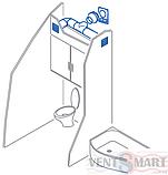 Тройник воздуховода круглый (вентиляционный тройник) ПЛАСТИВЕНТ, фото 4