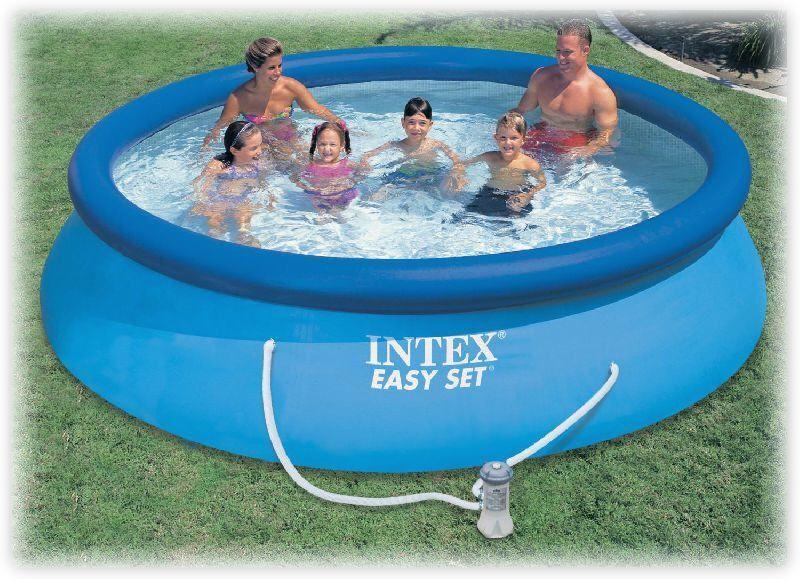 Бассейн надувной Intex 28132 (56422) Easy Set Pool  + фильтр-насос, 366х76 см