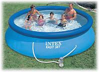 Басейн надувний Intex 28132 (56422) Easy Set Pool + фільтр-насос, 366х76 см