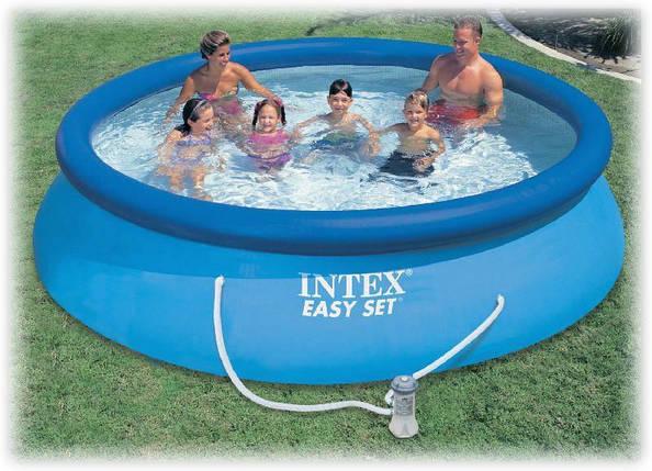Бассейн надувной Intex 28132 (56422) Easy Set Pool  + фильтр-насос, 366х76 см, фото 2