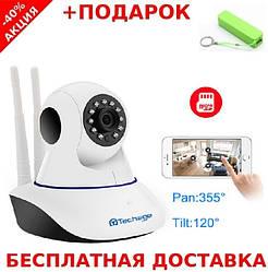 Беспроводная поворотная IP Camera z05 RTP/RTSP с ночной подсветкой + powerbank
