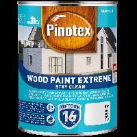 Pinotex  wood paint extreme, самоочищающаяся краска для деревянного фасада 1л BW