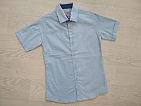 Рубашка для мальчика ТМ Ayugi голубая р. 146, 152