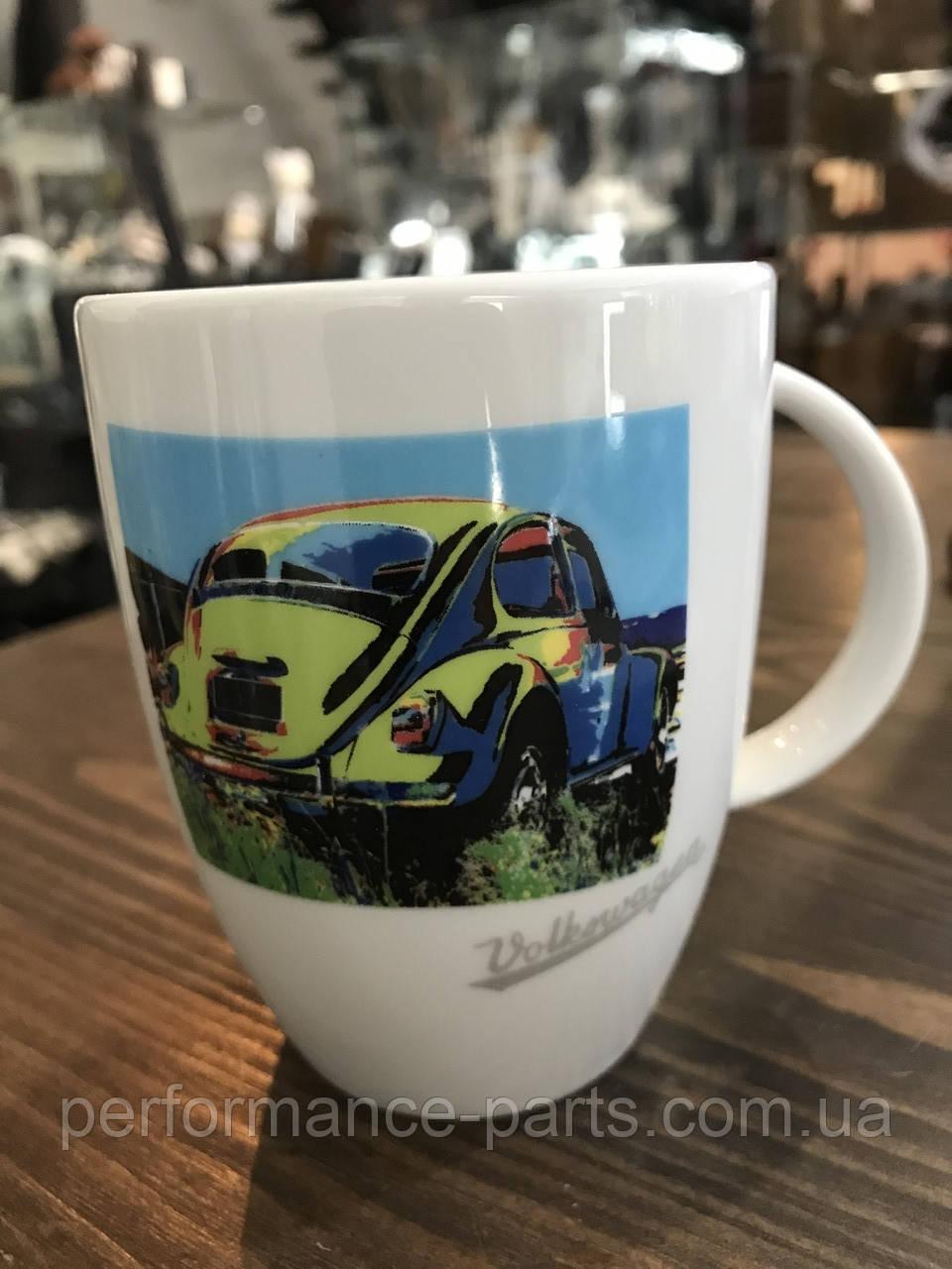 Фарфоровая кружка Volkswagen Mug Beetle, Pop-Art-Style V2 311069601