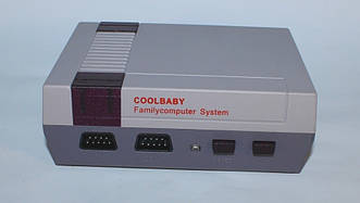 Игровая приставка CoolBaby Video Games Dendy, Игровая ретро приставка Денди NES 8bit 500 в 1 + powerbank