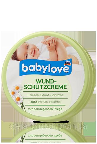 Babylove крем от опрелостей заживляющий Wundschutzcreme 150ml