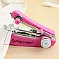 Карманная мини швейная машинка с нитками для шитья ручная швейная машинка + powerbank, фото 6
