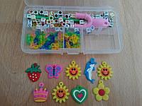 Набор бусы-подвеска Loom Bands Лум Бэндс для плетения браслетов купить