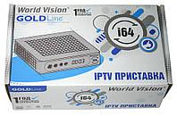 World Vision i64 IPTV приставка с LAN