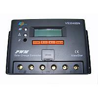Солнечный контроллер Epsolar Контроллер заряда VS30248N 30A 12/24/36/48 PWM, фото 1