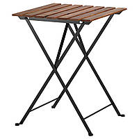 Садовый стол складной IKEA TARNO сталь морилка 700.954.29