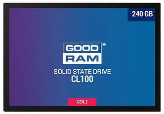 SSD внутренние GOODRAM CL100 240 GB GEN.2 SATAIII TLC(SSDPR-CL100-240-G2)