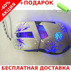 Мышь  USB проводная игровая ZORNWEE Z42 Геймерская + powerbank