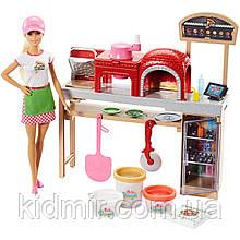 Лялька Барбі Піца шеф Піцерія Блондинка Barbie Pizza Chef FHR09