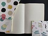 Блокнот Paint для записів в лінію на скобі 70г, фото 2