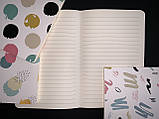 Блокнот Paint для записів в лінію на скобі 70г, фото 4