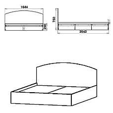 Кровать-160, фото 3
