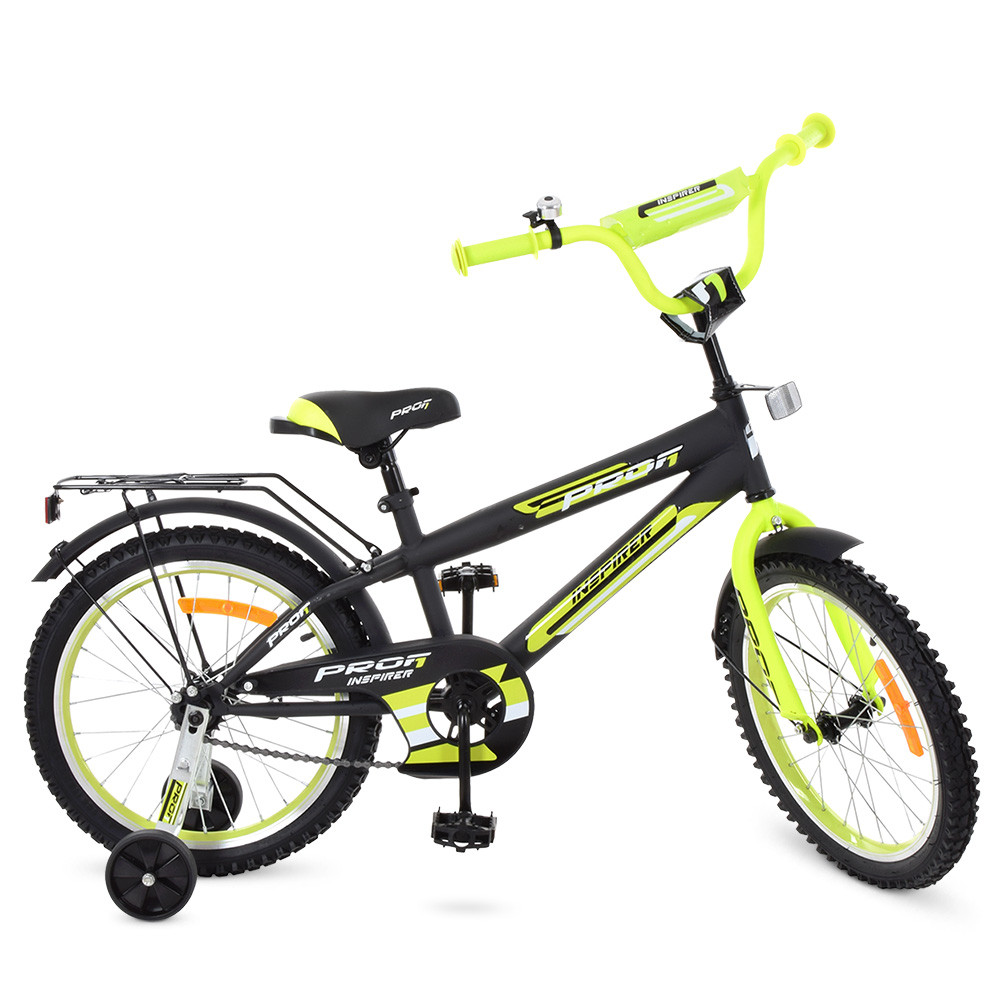 Детский велосипед 18 дюймов PROF1 G1851 Inspirer Гарантия качества Быстрая доставка