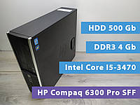 Системный блок HP Compaq 6300 Pro SFF Core I5-3470/4gb/hdd 500gb