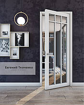 Дверь межкомнатная FINE CLEAR 01 дерево натуральное с наличником 900х2100х45 мм