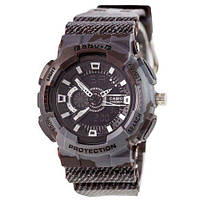 Наручные женские часы Casio Baby G GA-110 Jeans Dark Gray