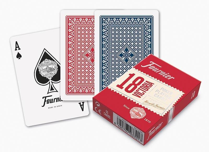Карты игральные | Fournier 18 Victoria