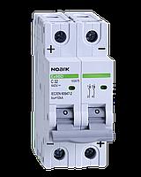Автоматический выключатель для DC Noark C 16А 1P Ex9BВ 103559