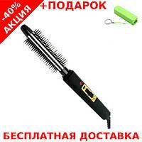 Плоечка-щетка Elbee 14209 Elma плойка - стайлер для завивки волос с защитой от ожогов + powerbank