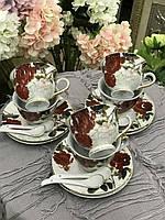 Сервиз чайный 6 персон Розана (18 предметов)