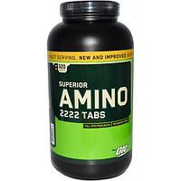 Optimum Nutrition Аминокислоты Optimum Nutrition Amino 2222, 320 таб. (micronized amino)