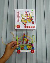Развивающая игрушка - каталка лабиринт